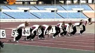 SNSD - 50 meter race