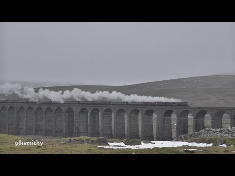 A4 60009 on The Winter Cumbrian Mountain Express on Sat 9th Feb 2013.