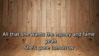 All She Wants (Gone Tomorrow) - Laza Morgan feat Jayden (Lyrics)