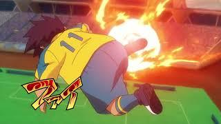 Sasuke's Fire Tornado-Inazuma Eleven Ares no Tenbin