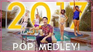 2017 POP MEDLEY - Reverse One-Take!! (Sam Tsui + KHS)