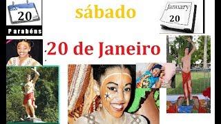 """Meu Diário do Dia: 20 de JANEIRO """" O DIA D """" - CURIOSIDADES, DICAS E ANIVERSARIANTES 20 DE JANEIRO"""
