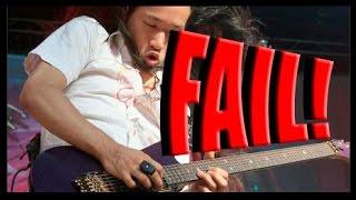 EPIC FAIL! Herman Li from Dragonforce Fail or Win?