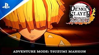 Demon Slayer: Kimetsu no Yaiba - The Hinokami Chronicles \'Adventure Mode: Tsuzumi Mansion\' trailer