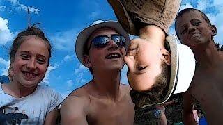 """Ide na plażę - video"" real life"