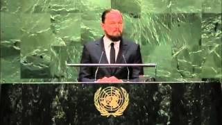 """Leonardo DiCaprio: """"Parem de fingir que aquecimento global não existe"""""""