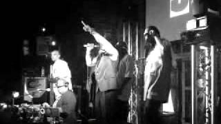 """Melle Mel & The Furious 5 with Kurtis Blow """"Rapper's Delight"""" at Glasgow The Arches, 27-Sep-2009"""
