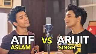 Atif Aslam v/s Arijit Singh Songs (Mashup by Aksh Baghla)
