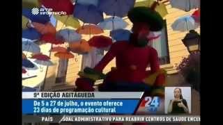 9ª Edição AgitÁgueda em destaque na RTP Informação