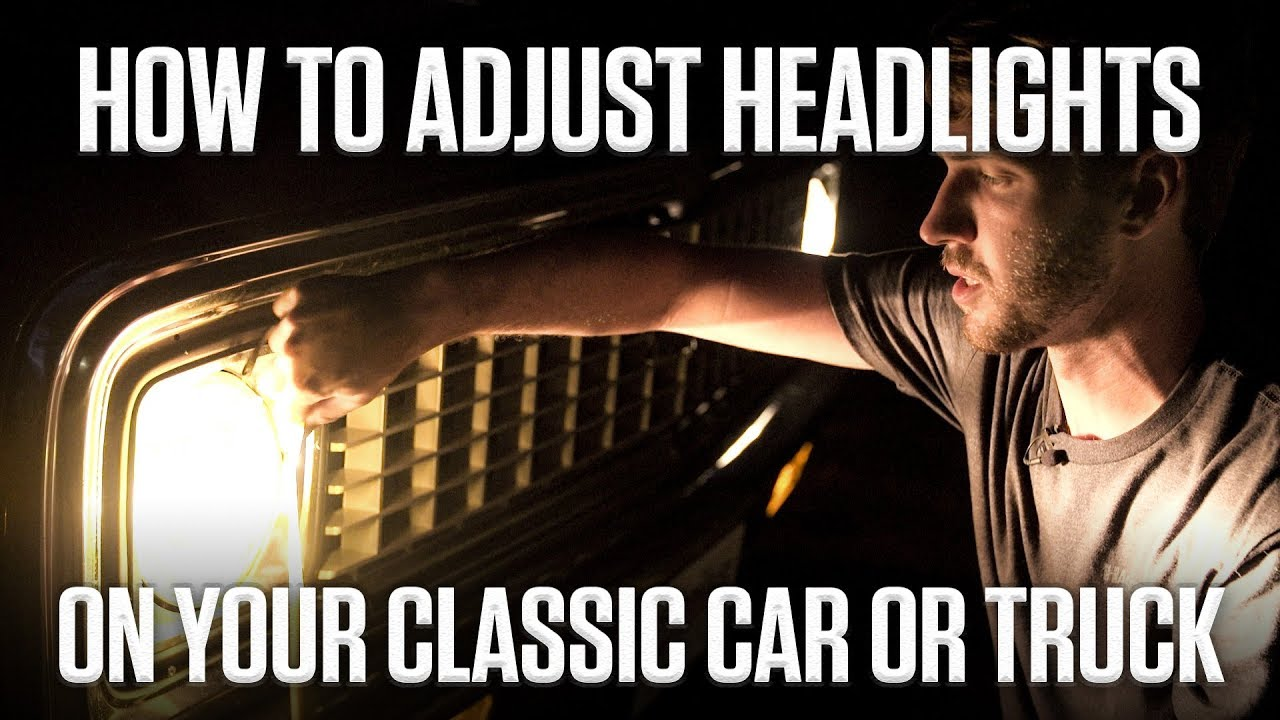 DIY: How to Adjust Sealed-Beam Headlights on Your Classic Car or Truck thumbnail