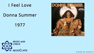I Feel Love - Donna Summer 1977 HQ Lyrics MusiClypz