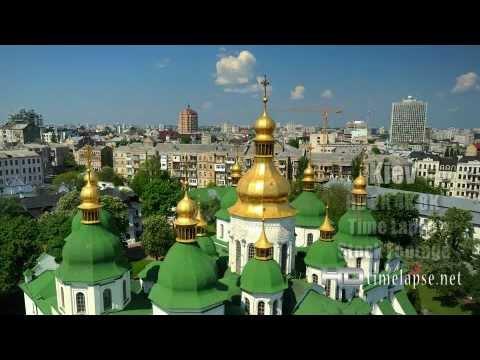 Kiev, Ukraine – UHD Ultra HD 2K 4K Video Time Lapse Stock Footage Royalty-Free