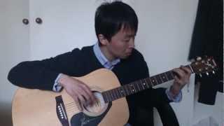 Memorias da noite - Luar na lubre Cover guitar