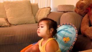 Jasmine watching her Kuya Dey's old home videos_20110807-MVI_0004.mov