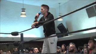 PWG main event feud is based on homophobic insults. WOOP WOOP.