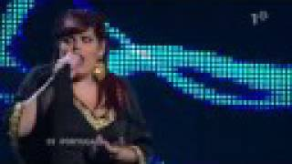 Vania Fernandes - Senhora do Mar - Live Eurovision SF 2008 high quality