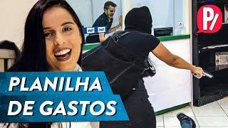 COMO MONTAR UMA PLANILHA DE GASTOS   PARAFERNALHA