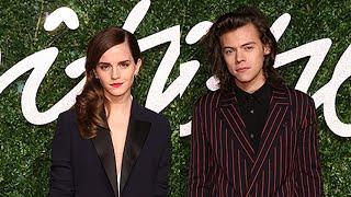 Harry Styles Presents Emma Watson British Fashion Award