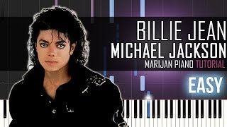 How To Play: Michael Jackson - Billie Jean | Piano Tutorial EASY + Sheets