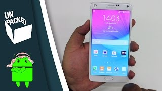 تعرف أكثر على النوت 4 | Samsung GALAXY Note 4 Hands-on