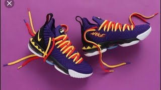 "Nike LeBron 16 ""Martin"" Sneaker Review"