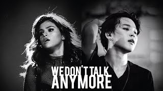 PARK JIMIN X SELENA GOMEZ - We Don't Talk Anymore (Audio)