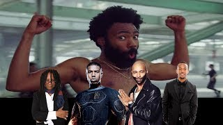 Celebrities React To 'This Is America' Music Video by Childish Gambino width=