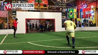 Penales Michoacan vs Deportivo El Sauz  Final A Jueves Chitown Futbol