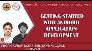 Module P12 - Getting started with Android Application Development width=