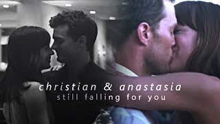christian & anastasia | still falling for you