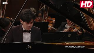 #Cliburn2017 FINAL: CONCERTO - Daniel Hsu -  Tchaikovsky: Piano Concerto No. 1 in B-flat Minor