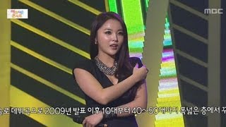 Hong Jin-young - Love Battery, 홍진영 - 사랑의 배터리, Beautiful Concert 20130107