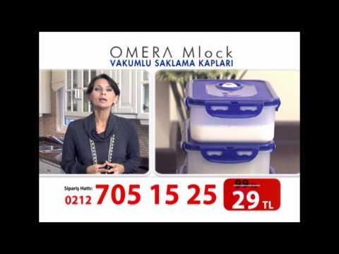 Omera M-Lock Vakumlu Saklama Kapları