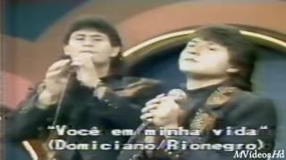 Gian & Giovani - Você em minha vida (Inédito) Início dos anos 90 - Pampa Show - RS
