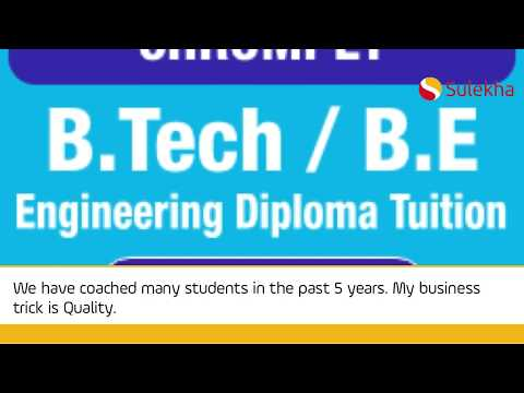 Engineering Graphics Tuition Centres in Chennai | Sulekha