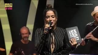 Rindo à toa - Luan Santana, Anitta e Matheus & Kauan no Msica Boa Ao Vivo (18/04/2017)