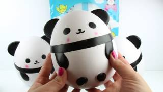 Super Jumbo Nani Panda Squishy