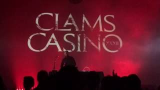 CLAMS CASINO PERFORMING I'M GOD LIVE HD 1080p QUALTY