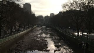 Paris' Canal Saint-Martin gets much-needed clean-up