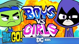 Teen Titans Go! | Boys vs. Girls