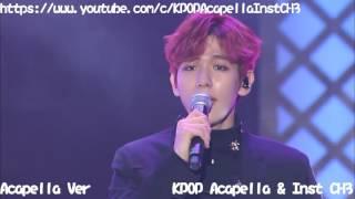 [Acapella] EXO-CBX (첸백시) - CRUSH U