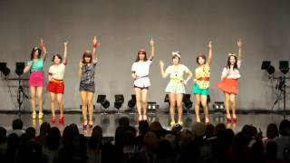 T-ARA - Roly Poly dance cover by honey boy (Mar.25,2012)