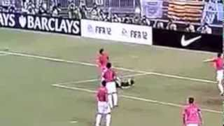Fail of the Week #3: Soccer Player Hits Himself in The Head - Failed Bicycle