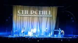 Churchill - Change (10.5.2013, Prague)