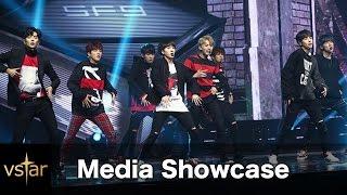 SF9 'K.O.'(케이오) 데뷔 무대 첫 공개 @언론쇼케이스