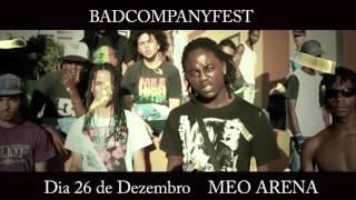 BADCOMPANY FEST _ 26 DEZEMBRO _ MEO ARENA ( Spot Publicitário )