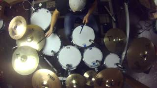 Thousand Foot Krutch -War of Change - Drum Cover by Collin Rayner