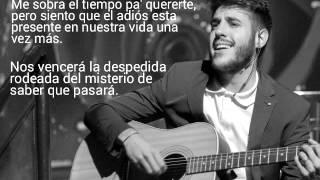 Antonio José - Cuatro Vidas (Letra)