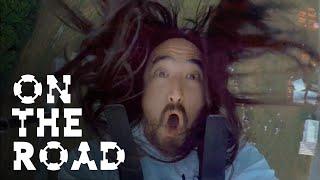 Steve Aoki Bungee Fail - On the Road w/ Steve Aoki #182