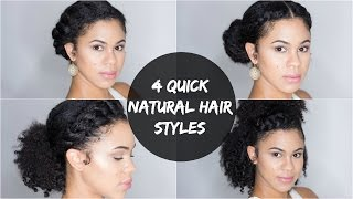 Swell Download Video 5 Quick And Easy Hairstyles For Short Natural Hair Short Hairstyles For Black Women Fulllsitofus